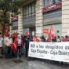 Cierre de oficinas bancarias en España
