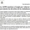 ¿Cuánto supone la multa de 900.000 Euros para Google?