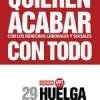 Rajoy tenia razón! huelga general contra la reforma laboral