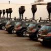 Los coches del Gobierno
