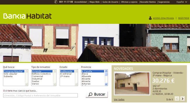 Inmobiliarias en España por primera línea de mar
