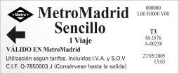 Billetemetromadridsencillo