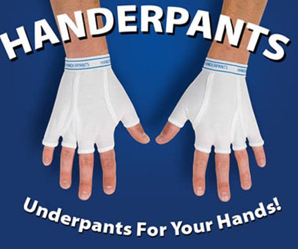 Calzoncillos para manos