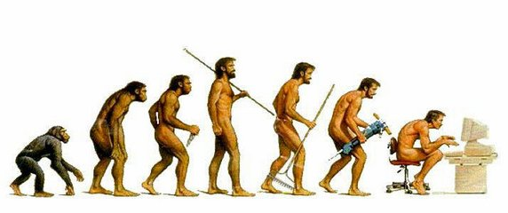 evolucion electronica: