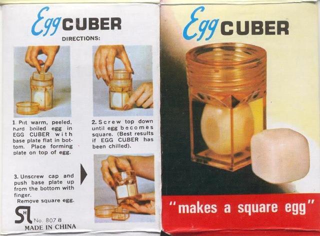 Huevos en cubo