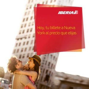 Iberia subasta de billetes a Nueva York