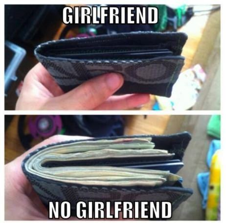 Novia dinero