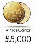Precio Almas caviar