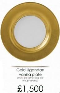 Precio Vajilla oro