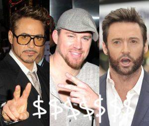 Ranking de los actores mejor pagados