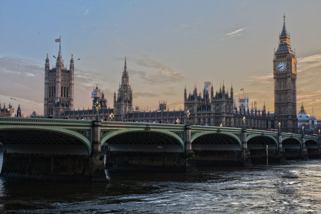 Recesión económica en Reino Unido