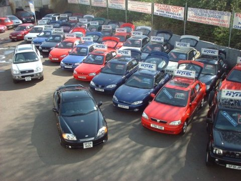 con ello los precios del mercado de segunda mano de coches