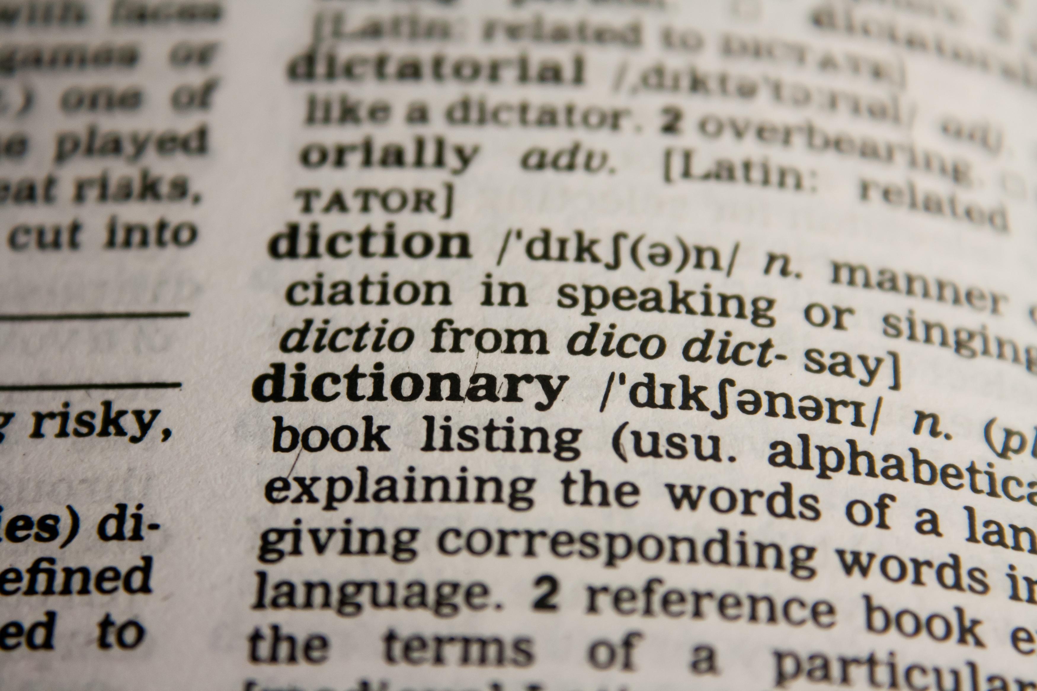 dictionary-390055
