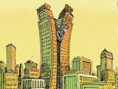 foto-portadaskyline2-300x226% - El juego de la silla en las fusiones bancarias