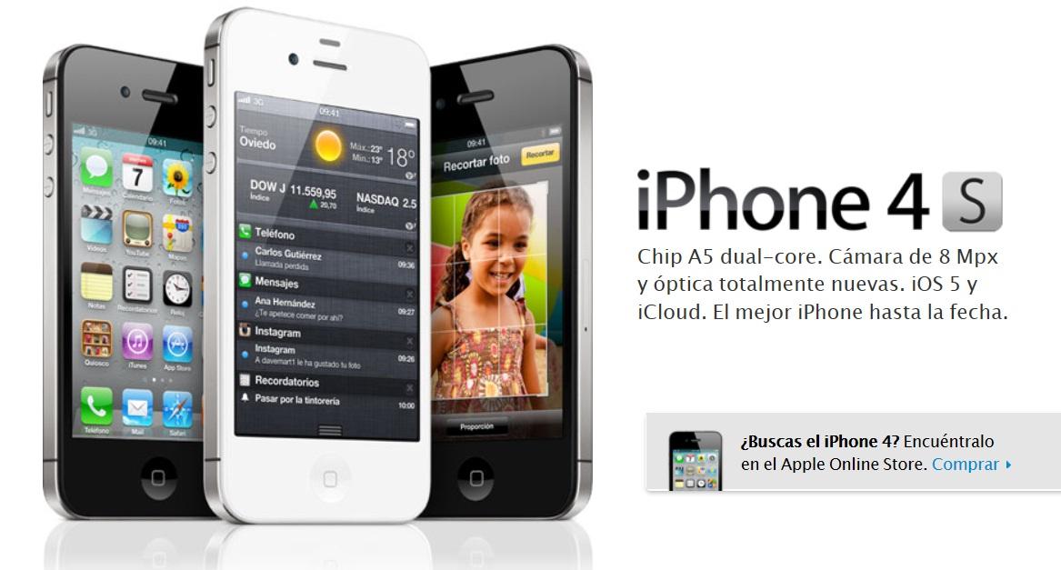 Comprar iphone 4s nuevo