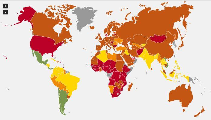 mapa hpi