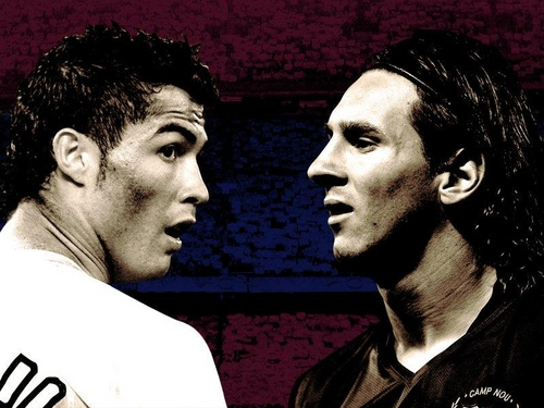 Messi vs Cristiano Ronaldo , Super post!!