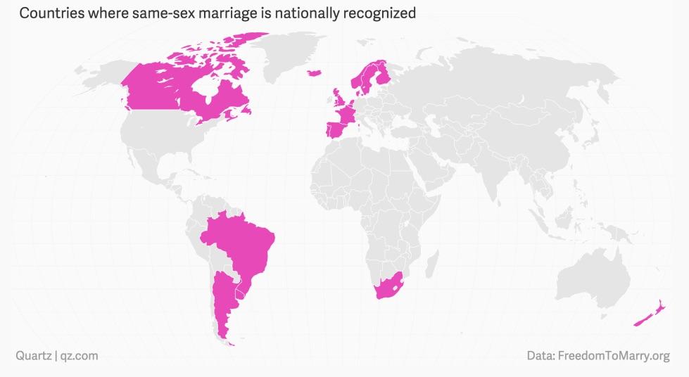 países con igualdad