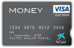 Tarjeta prepago visa money de la caixa for La caixa oficina internet